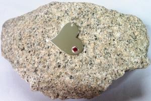 HEART OF Mrs.Mi.....little stone