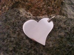 HEART OF Mrs.Mi med eller utan namn inkl. silverkedja